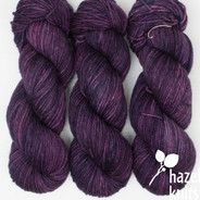 Grape Expectations  Worsted-Aran Limited Edition Base - has a marked KNOT (reduced price!)