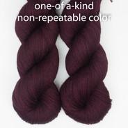 OOAK Piquant Lite - deep wine red and darkest purple