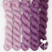 High Five Set Ombre' - Orchid Solid (Artisan Sock, 5 x 100 yards)