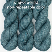 OOAK blues and blues that lean tealish, grays - Entice