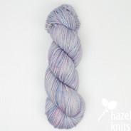 OOAK Blue+Pinks Worsted-Aran Limited Edition Base