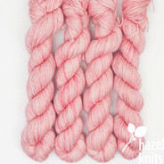 Cherry Blossom - Individual Quarter Skein, Artisan Sock