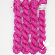 Totally Pink Artisan Sock - 100+ yard mini