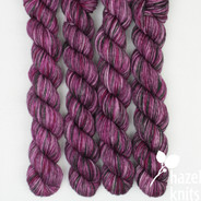 One of a Kind - Pinks and Green - Individual Quarter Skein, Artisan Sock