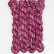 One of a Kind - Pinks - Individual Quarter Skein, Artisan Sock
