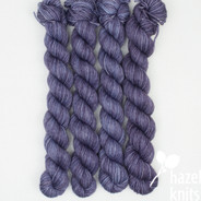 Tastes Like Purple Artisan Sock - 100+ yard mini