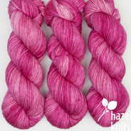 OOAK (one-of-a-kind) Hot Pink Layers - Lively DK