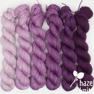 Orchid Ombre' Set (Artisan Sock, 6 x 150 yards each)