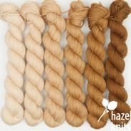 Latte Ombre' Set (Artisan Sock, 6 x 150 yards each)