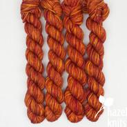 Lava - Individual Quarter Skein, Artisan Sock