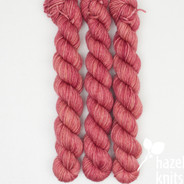 Cabbage Rose - Individual Quarter Skein, Artisan Sock