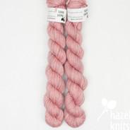 Pink Purl Artisan Sock - 100+ yard mini