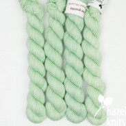Lime Granita Artisan Sock - 100+ yard mini