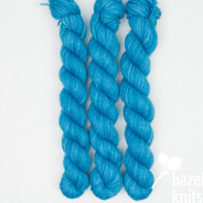 OOAK (one of a kind) Blue - Individual Quarter Skein, Artisan Sock