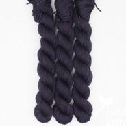 Plum Glace - Individual Quarter Skein, Artisan Sock