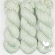 OOAK (one of a kind) - hint of tint, lime-ish green  Artisan Sock