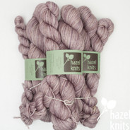 Haze Entice MCN - split where there was a knot in the skein