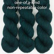 OOAK Dark Greens / Blue Cadence