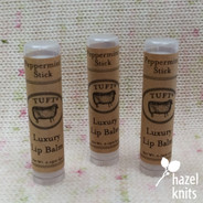 Lip Balm - Peppermint Stick, by Tuft Woolens