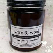 Bayberry Garland Candle by Wax & Wool