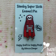 Stanley Superhero Sloth - Enamel Pin