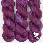 OOAK (one of a kind) - light purples and magenta Artisan Sock