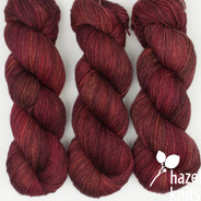 OOAK (one of a kind) Reds, Rusts, Magenta Artisan Sock