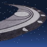 Lunar Cycle Set - Artisan Sock - gray