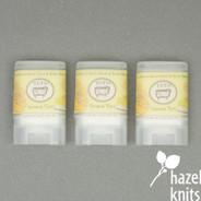Knitters Hand Balm - Lemon Tart, by Tuft Woolens