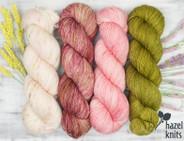 Olive Pink set - Artisan Sock
