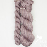 Haze Lyric -  split where there was a knot in the skein