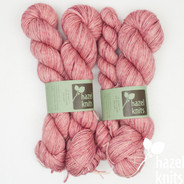OOAK (one of a kind) pinks Entice MCN - split where there was a knot in the skein
