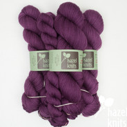 OOAK (one of a kind) Orchid Solid Purple Entice MCN - split where there was a knot in the skein