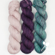 Trio Palette 2, Entice MCN - 200+ yards each (600+ yards total)