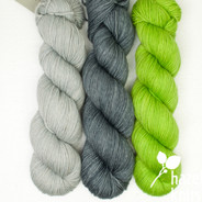 Trio Palette 4, Entice MCN - 200+ yards each (600+ yards total)