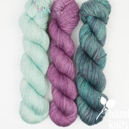 Trio Palette 5, Entice MCN - 200+ yards each (600+ yards total)