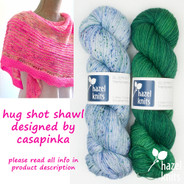 Hug Shot #10 BLUEPRINT - includes Ravelry pattern code