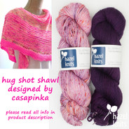 Hug Shot #11 BLUEPRINT - includes Ravelry pattern code