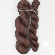 Acorn Entice - split skein where there was a knot