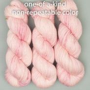 OOAK (one of a kind) pinks and cream Artisan Sock