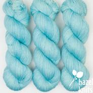 Ice Blue Artisan Sock