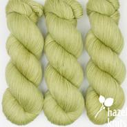 OOAK (one of a kind) green Artisan Sock