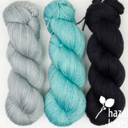 Set of three, 3-ply merino. - see product details