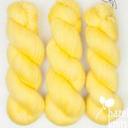 Lemon Yellow PROTOTYPE (one of a kind) Artisan Sock