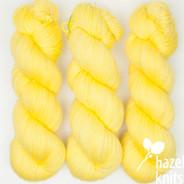Lemon Yellow PROTOTYPE 2 (one of a kind) Artisan Sock