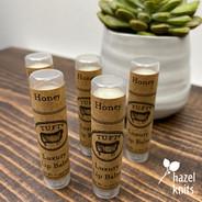 Lip Balm - Honey, by Tuft Woolens