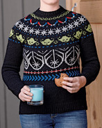 The Order of the Jedi Pullover Kit (pattern only available in Star Wars, Knitting the Galaxy book, sold separately)