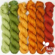 Autumn (Color Play Set  - Artisan Sock, 6 x 150 yards each)