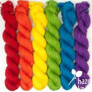 Color Play Set  Pride Rainbow (Artisan Sock, 6 x 133 yards each)