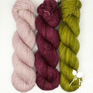 Trio Palette 6, Entice MCN - 200+ yards each (600+ yards total)